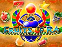 Fruits Of Ra от Playson: онлайн-слот на фруктовую тематику